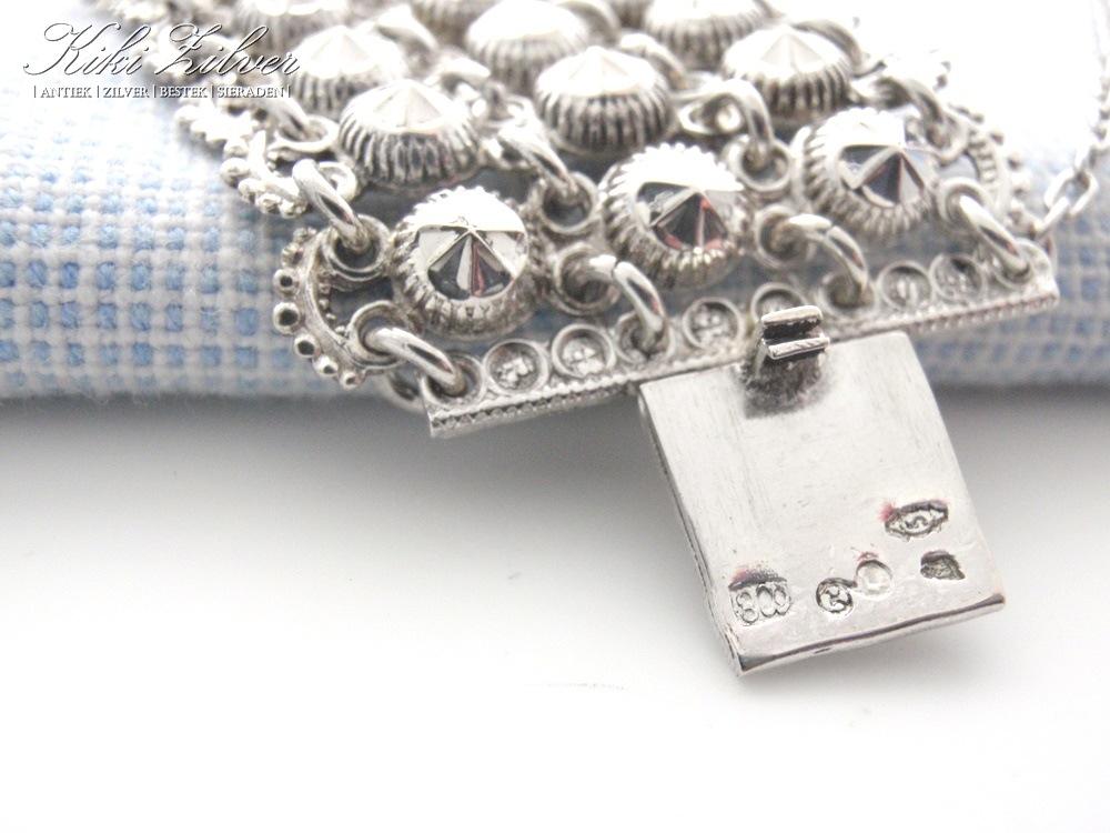 Antiek Zilveren Armband 1853 1893 Kiki Zilver