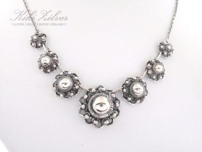 Zilveren Collier Zeeuwse Knop kiki zilver