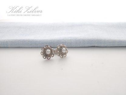 Zilveren Oorbellen Zeeuwse Knop 11 mm. kiki zilver sieraden