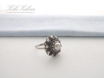 Zilveren Ring Zeeuwse Knop kiki zilver sieraden