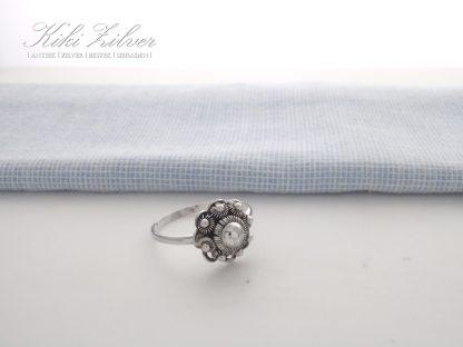 zilveren ring zeeuwse knop kiki zilver antiek sieraden