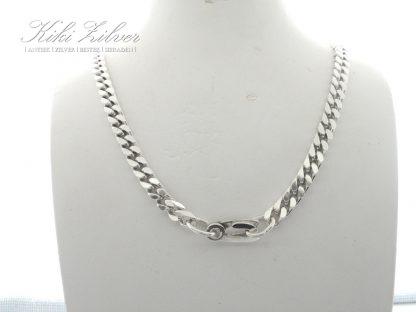 zilveren gourmet collier kiki zilver sieraden