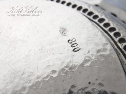 zilveren schaal Djokja kiki zilver