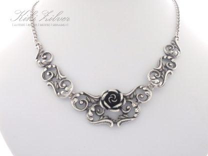 collier zilver Teka roosjes kiki zilver sieraden