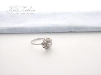 Zilveren ring Zeeuwse Knop 12 mm. kiki zilver sieraden